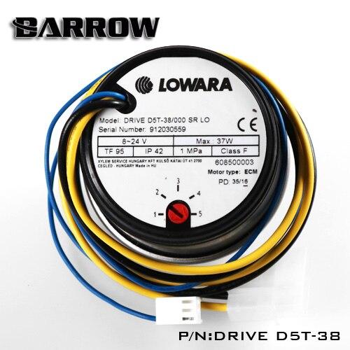 LOWARA/XSPC DRIVED5T/B-PMD5-X, D5 насосы, максимальный поток 1200л/ч, венгерский D5 насос - Цвет лезвия: LOWARA
