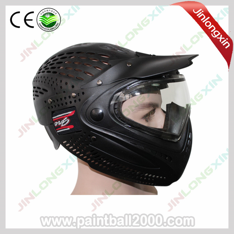 SPUNKY Anti Fog Full Head Cover Paintball Mask with Dye I4 Thermal Lens