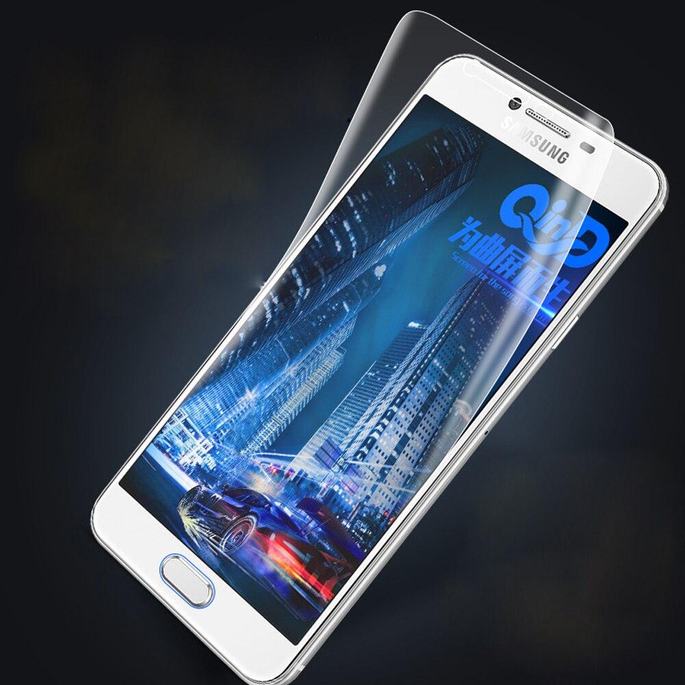 3D Soft Hydrogel Front Film For Samsung C5 C9 Pro C7 2017 C8 Screen Protector Galaxy C7 Pro C5 C9 Soft TPU Nano Film (not Glass