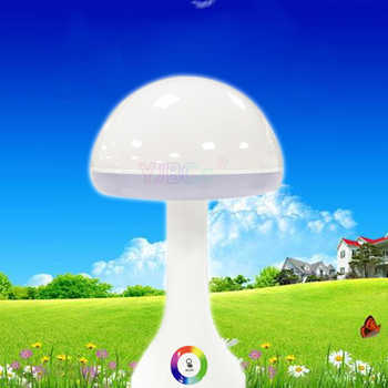 New led creative night light fashion 256 color atmosphere Desk Lamp USB charging LED energy saving eye table light mushroom lamp