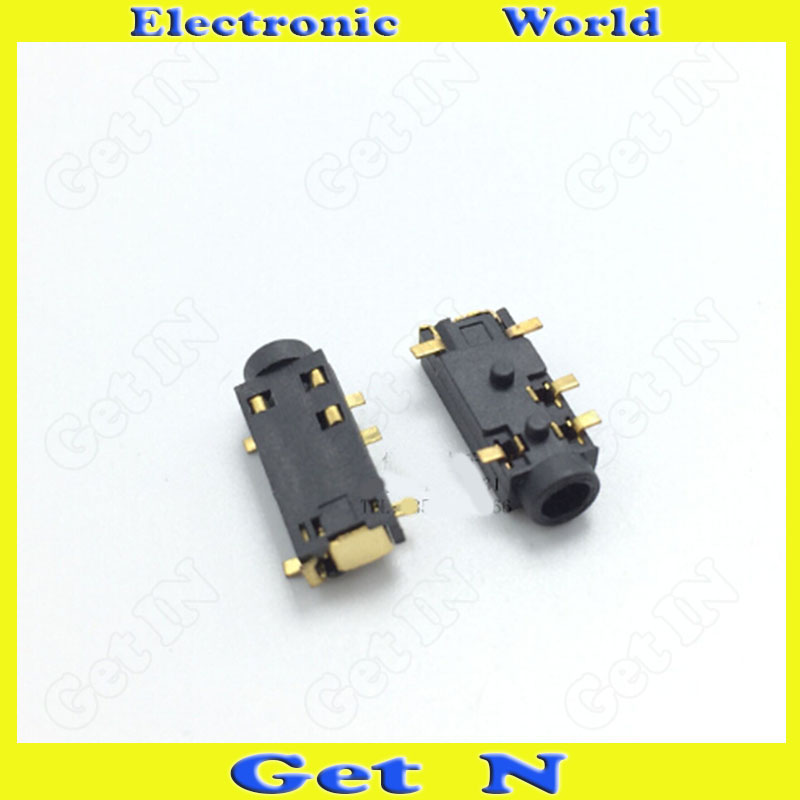 30pcs-2000pcs PJ-327 2.5mm Earphone Female Plug Socket 2.5 Auido Video Connector for MP3/MP4/Digital Product