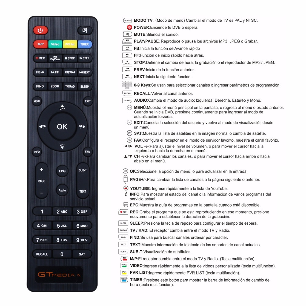 1 Year Europe Spain DE Cline Server Genunie Freesat GTmedia V7S HD DVB-S2  Satellite Receiver Full HD 1080P With USB WiFi 10pcs