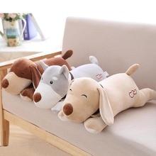 Hot Sale Lovely Dog Plush Toy Stuffed Animal Dog Doll Soft Plush Pillow Gift For Children Kids цена в Москве и Питере