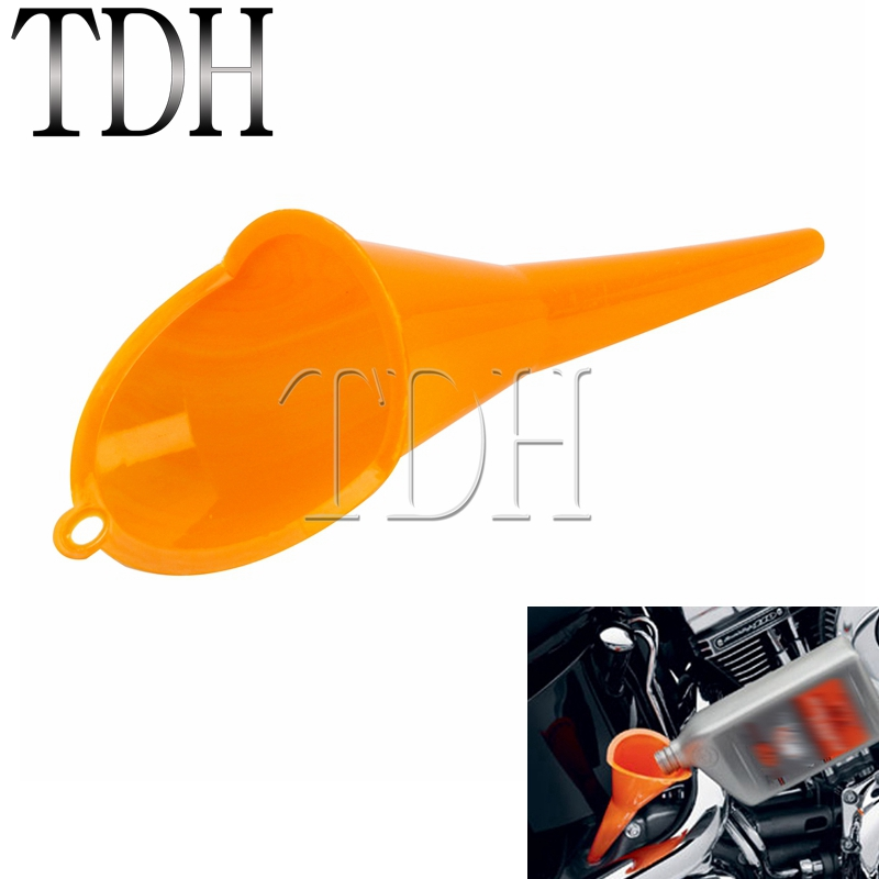 Motorcycle bicycle gearbox crankcase oil filled filling funnel wear oil filling