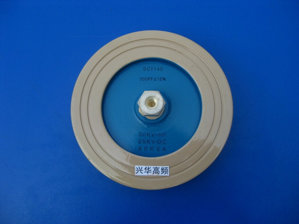 Voltage Ceramic Capacitor RDF80 500PF 15KV.DC 40KVA High Frequency