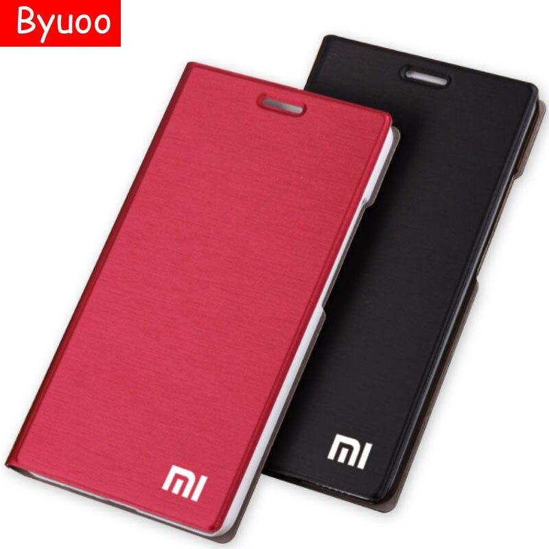 Nouveau Arrivent! pour Xiaomi mi5 Cas De Luxe Mince Style Flip Étui En Cuir Pour Xiaomi mi4 mi4c mi3 redmi note 4x Redmi 4x3 s Couverture sac
