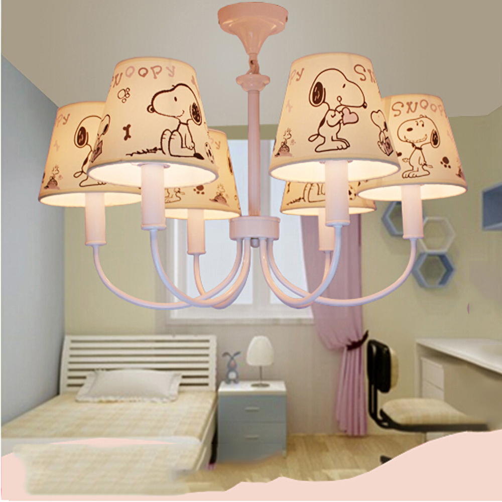 ФОТО High Quality Cartoon Chinese Chandeliers  E14 Led 110V-220V Kids Room Led Pink Chandelier Lamp Chandeliers Suppliers
