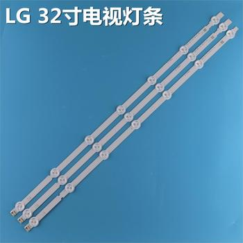630mm 7 retroiluminación LED tira de la lámpara para LG 32 TV 32ln541v 32LN540V A1/B1/B2-Type 6916L-1437A 6916L-1438A 6916L-1204A 6916L-1426A