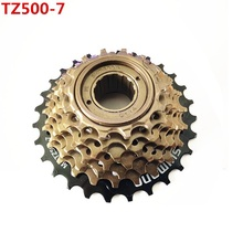 Bicycle Accessories for shimano MF-TZ500 7 Speed Cassette Freewheel 14-28T for MTB Road Cycling Bike 7-Speed Cassette