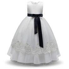 Solid Baby Girl Dress Children Kids Dresses For Girls 4 9 Years Birthday Outfits Dresses Girls