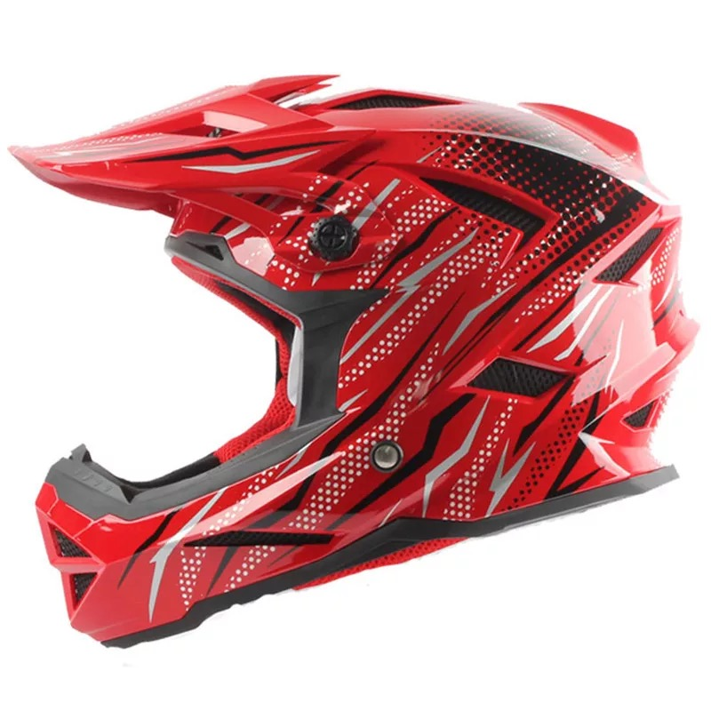 New Motocross Helmet Mountain Bike Full Helmet Downhill Helmet Racing Helmet helmet helmet meantime