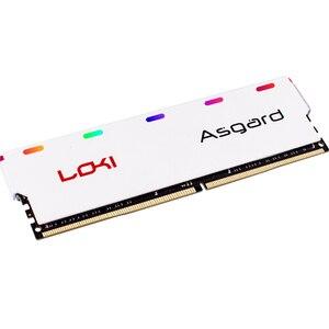 Image 5 - אסגארד לוקי w1 סדרת DDR4 8gbx2 3000mhz RGB RAM עבור משחקי שולחן העבודה memoria ram dimm