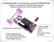 NEW 1PCS/LOT ACS758ECB-200U ACS758 ACS758ECB-200 ACS758ECB 200U  120 kHz bandwidth DC: 0-200A 0.02V/1A