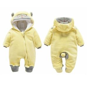 Image 5 - דוב אוזן סלעית חדש נולד תינוק Rompers לתינוקות בני בנות בגדי יילוד בגדי מותגים סרבל תינוקות תלבושות תינוק תלבושת