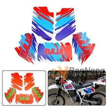 Грязи мотоцикл полный набор графических наклеек наклейки топливный бак наклейка Бензобак наклейки для XR Baja 250 Baja250