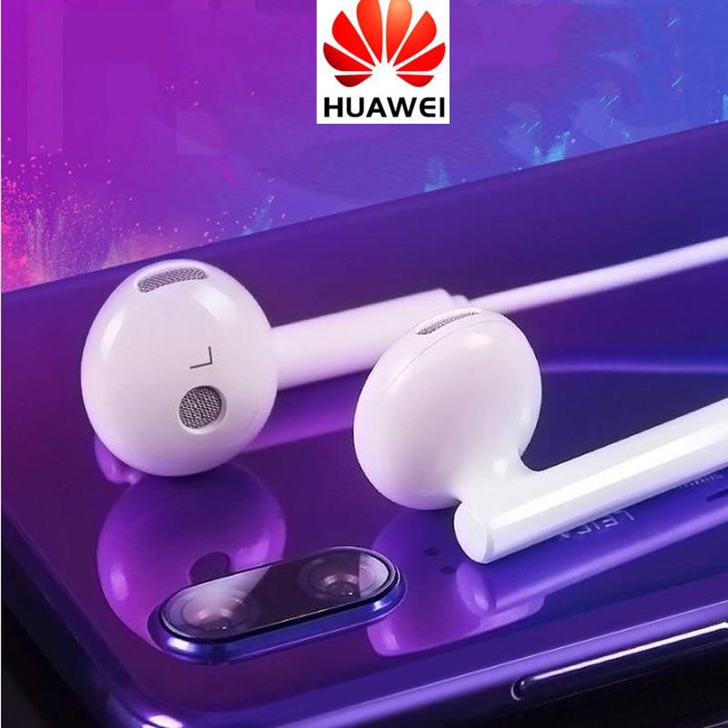 Genuine HUAWEI Earphone Original Earpiece + Mic Volume Control For P9 Lite P10 Plus Mate 7 8 9 5X 6X V9 Nova 3 3i Honor 8x