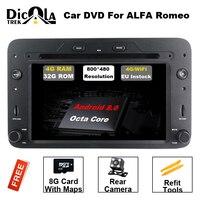 HD 1080 P Восьмиядерный Android 8,0 dvd плеер автомобиля gps навигация для Alfa Romeo 159 паук Sportwagon Brera автомобиля радио Стерео RDS