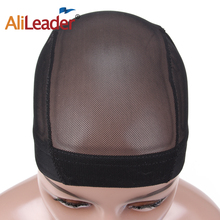 AliLeader Glueless Hair Net Wig Liner Cheap Wig Caps For Making Wigs Spandex Elastic Mesh Dome Cap Materials For Wigs Making