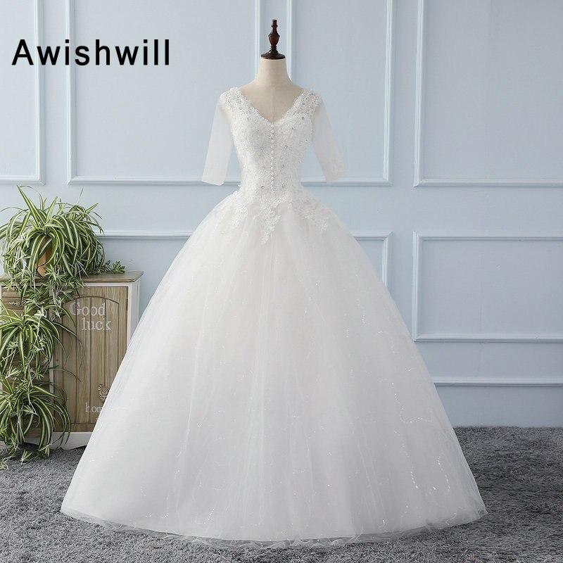 Princesa Bonito Puffy Vestido De Baile Vestido De Noiva Com