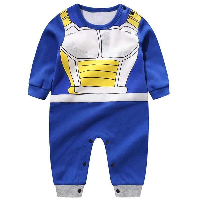 HTB1NaS0Kr2pK1RjSZFsq6yNlXXaV YiErYing High Quality Baby Clothing Baby Cartoon rompers Dragon Ball Style Long Sleeve Baby Jumpsuits Baby Boy Girl Clothes