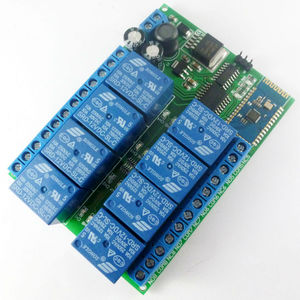 Image 4 - DC 12V 8 Channel Android Phone Bluetooth Control Relay Module for Smart Home LED Lighting system