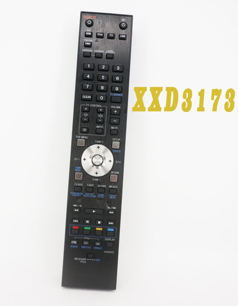 Used Original Remote Control XXD3173 FOR Pioneer Blu-Ray LX Series BD Surround Receiver blu ray плеер pioneer bdp 180 k black