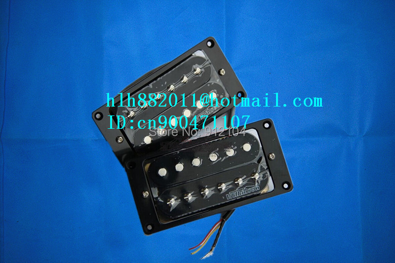 free shipping new electric guitar pickup in black wk-8214