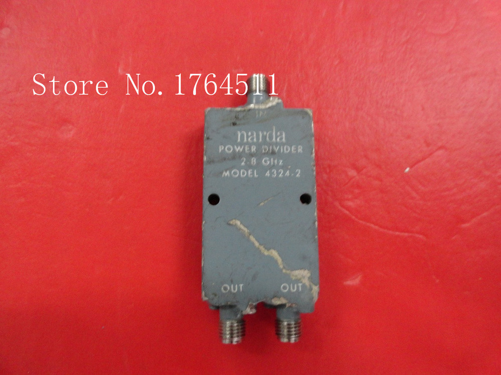 [BELLA] Narda 4324-2 2-8GHz A Two Supply Power Divider