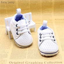 2017 toddler cack white color zapatos baby polo canvas shoes classic infant baby boy girl cheap