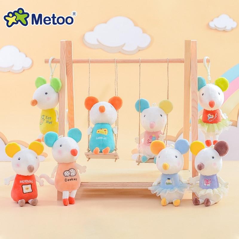 Mini Metoo Doll Plush Toys Stuffed Animals For Girls Baby Soft Cute Unicorn Small Keychain Pendant For Boys Kids Christmas Gift