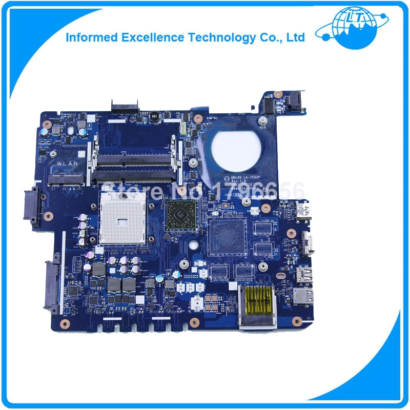 For Asus K53Z X53Z A53Z LA-7552P laptop motherboard mainboard tested 100% and fully working 100% original laptop motherboard f81se for asus fully tested and working well