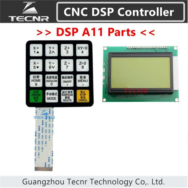 RichAuto A11 A12 A15 A18 DSP CNC controller parts key film button shell and display