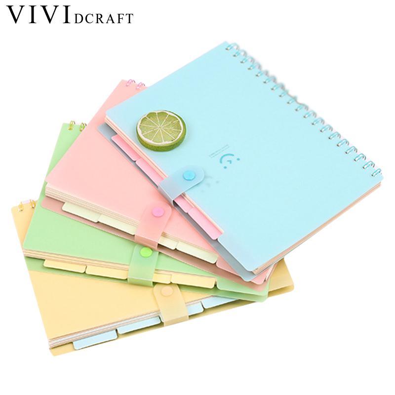 Vividcraft  Creative Cute Kawaii Cartoon Molang Diary Planner Notebook 2018 Program Agenda Cuaderno Notebook Material Escolar