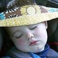 Bebés Y Soporte para La Cabeza Del Bebé del Cochecito de niño del Asiento de Seguridad Cinturón De Sujeción Ajustable Corralitos Posicionador Del Sueño Del algodón 12 Estilos