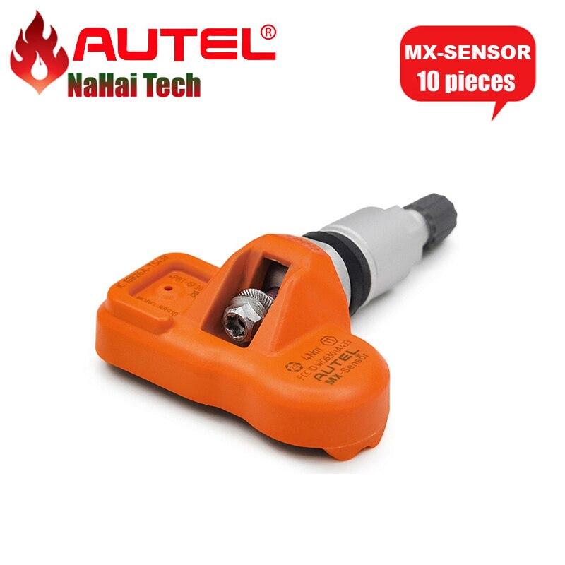 Цена за DHL Фрил Autel MX-Сенсор 433 мГц программируемый Универсальный TPMS Сенсор Поддержка программирования с TS601 MX Сенсор 433 мГц