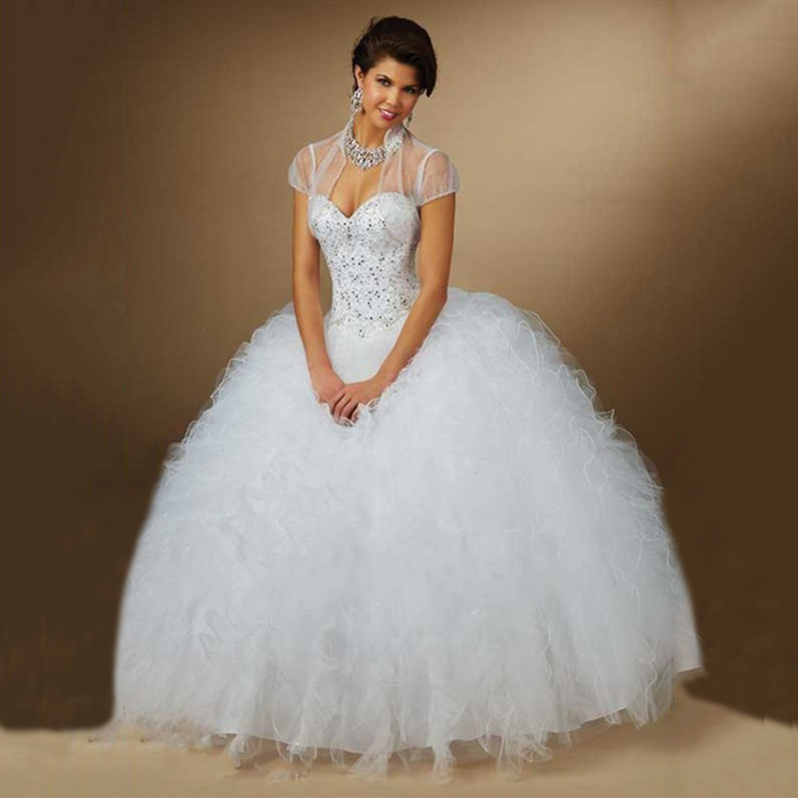 Online Buy Wholesale white debutante ball gowns with sleeves from ...