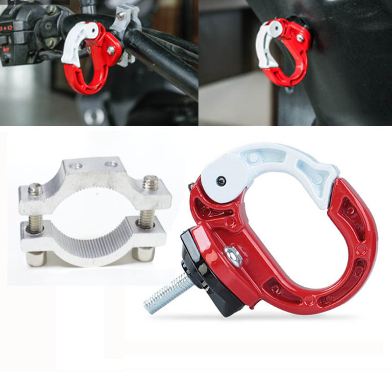 Universal Motorcycle Aluminum Alloy Hook Holder With Handlebar Install Hook Mount For Benelli 600 Luggage Helmet Hanging