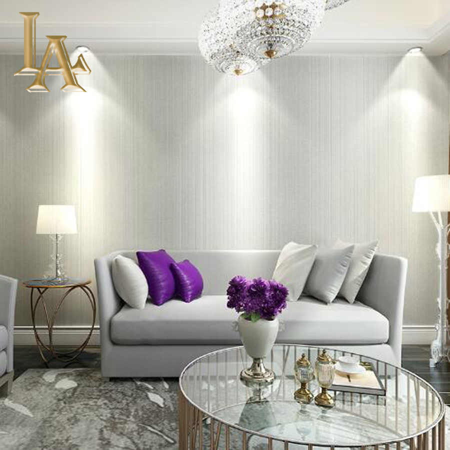 Slaapkamer taupe decor - Modern behang voor volwassen kamer ...