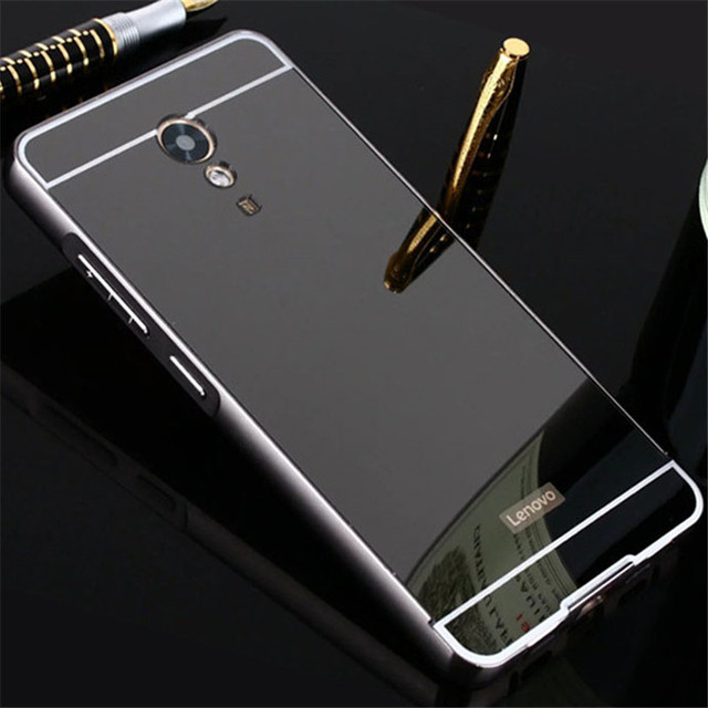 brand new 7df46 4c32d US $3.99 |For Lenovo P2 Case 5.5 inch Plating Mirror Aluminum Metal Bumper  Acrylic PC Back Cover For Lenovo Vibe P2 Case Phone Cases Para-in Phone ...