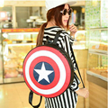 Marvel the Avengers Captain America Fashion Backpack Shoulder Bag Cosplay Costume Accessory Props Gift Kids Girl