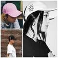Carta bordado Marca Anti Social Social Club Cap Unisex Mujeres Hombres Hip Hop Sombrero Snapback Del Sombrero de Béisbol Ajustable