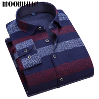 Best Sellers Casual Shirts Thicked With Velvet Business Men Long Sleeve Cotton Fashion Shirts MWC Brand