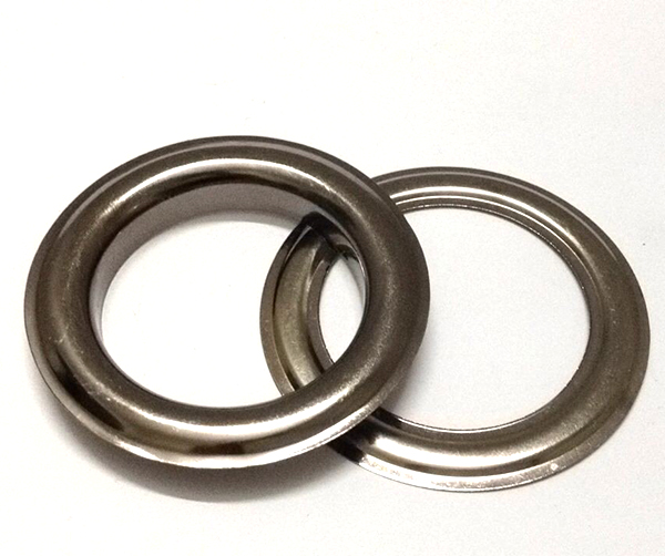 """Large #12 (1.5"""" Hole) Gunmetal Curtain Grommets With"""