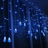 3 5M Colorful LED Light Strip Christmas Decoration Icicle Lights Xmas Tree Hanging Ornaments For Festival