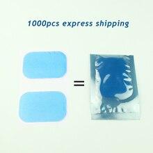 Оптовая продажа, 500 пар/1000 шт., моделирующая гелевая Подушечка для тренировки мышц живота, стимулятор мышц, сменный Массажный гель