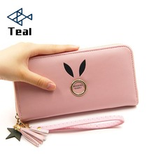 Women Wallets Lady Wristlet leather Long Money Bag Zipper Coin Purse Cards ID Holder Clutch Woman Wallet Burse New Fashion fashion men wallets good quality canvas fabric short clutch purses male moneybags coin purse wallet cards id holder bags burse