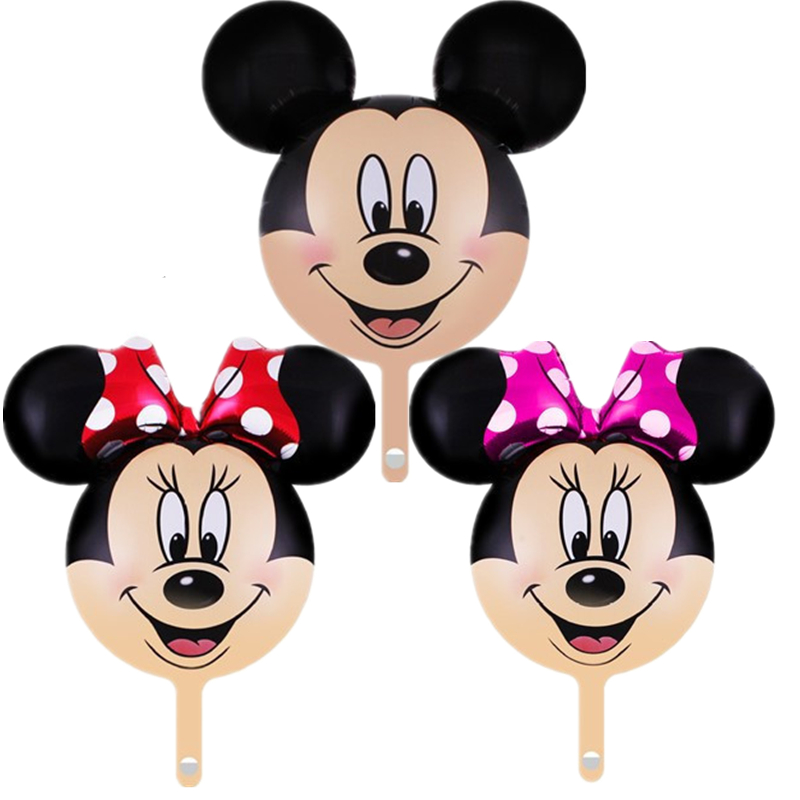 Ballons & Accessories Event & Party 50pcs 18inch Cartoon Mickey Minnie Balloons Aluminum Foil Ballons Helium Ballon Baby Shower Birthday Party Decoration Supplies Keep You Fit All The Time