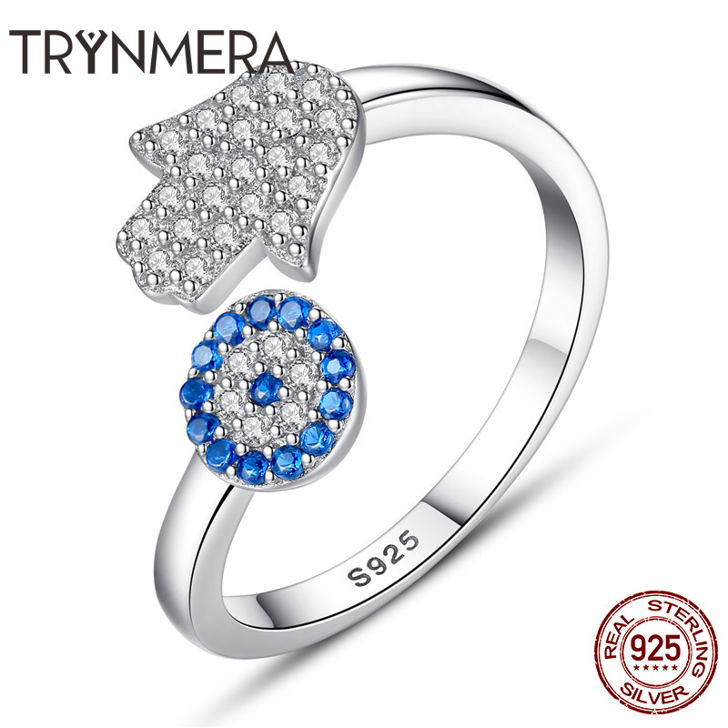 RHODIUM PLATED SOLID 925 HALLMARKED SILVER MICROPAVE SET OPEN T BAR RING