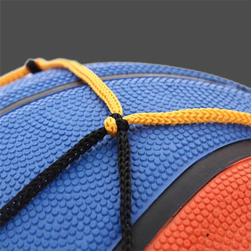 Hot koop Duurzame Draagbare Nylon Netto Zak Bal Carry Mesh Volleybal Basketbal Voetbal sport accessoires MUQGEW