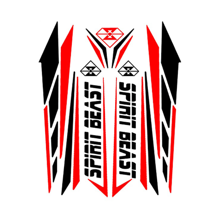 Sticker Aufkleber Yamaha FX Tuning Motorradcross Racing Motorradsport Biker-MC
